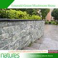 Fachada natural ardósia do cogumelo/tijolo artificial para a decoração da parede