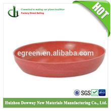 100% biodegradable flower pot / bamboo fiber round saucer / flower tray