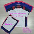 tailandés calidad camiseta de fútbol camisetas de fútbol juvenil barato conjunto del equipo de fútbol uniformes para los niños