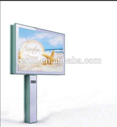 firm steel structure flex banner outdoor sign furniture equipment