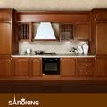 fácil de madera empotrados decorosa gabinetes de la cocina