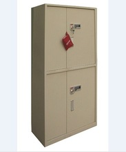 Firm and solid electronic security safe cabinet with two drawers