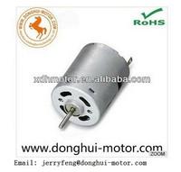 Permanent Magnet 12VOLT DC Carbon Brush motor 12volt Hair Dryer Motor,hair dryer dc motor RS-545