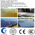 2-19mm Tempered Solar Panels with Outlet on sale with CCC/EN/SGS/ISO