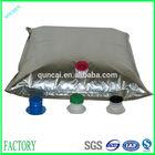 Customed aluminum foil liquid silver plastic foil bag