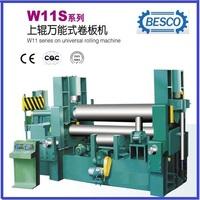 3 rolls small sheet roller bending machine