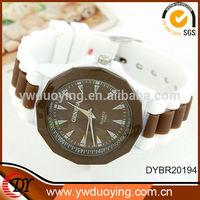 Alibaba china fashion jewelry colorful ladies silicone vogue wrist quartz watch