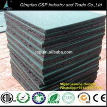 elastic rubber gym mats, Elliptical Mat Recycled Rubber Mat