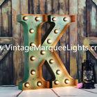 direct manufacturer of distressed light up letter