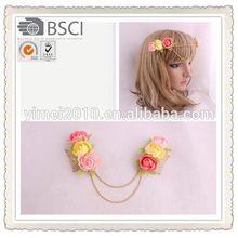 Handmade girls' hair decoration clips,hair clip design for girls