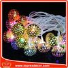 LED plastic homemade christmas ornaments decorations