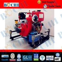 Portable Diesel Engine Fire Fighting Water Pump