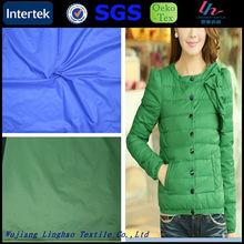 Quick delivery 310T nylon full dull taffeta fabric for down coat