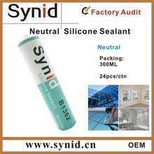 neutral winow glass silicone sealant