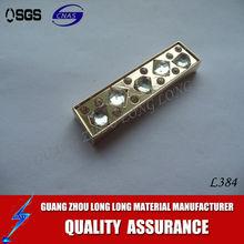 ornamental hardware/bag fitting/bag accessories for handbag&shoes&wallet&hat producer bag hardware