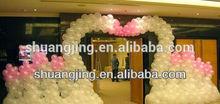round balloon for wedding arch