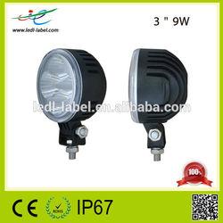 Cheap LED Light mini Motorcycle led light Auto 9w LED Work Light