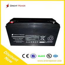 Gelled battery China sealed lead acid batteries for solar/ ups 12v battery