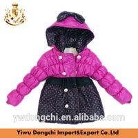 2014 new fancy girls coat for winter