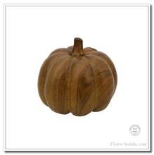 Flora Bunda decorative wood tone pumpkin