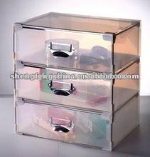 factory wholesale transparent plastic storage drawer