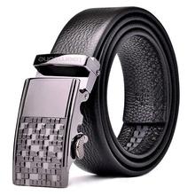 2015 Men's Fashion Automatic Buckle Leather Belt