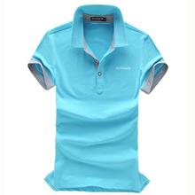 cotton extra long mens stripe polo shirts
