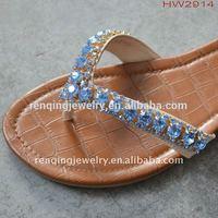 Vintage signed musi jeweled rhinestone art deco style shoe clips buckles