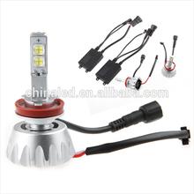 7200LM 60W 6000K H8 H9 H11 H16 MKR LED Car Headlamp Auto LED Head Light Fog Light Driving Light for Volvo Volkswagen Focus