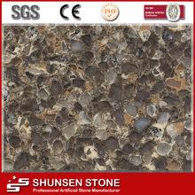 Hotel Stone Tile Natural Diamond Synthetic Quartz Stone MD-7981