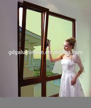 Australian standard aluminum tilt and turn windows picture AS/NZS2047 AS/NZS2208 & AS/NZS1288, sound proof window