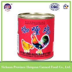 312g Canned Curry Chicken canned chicken,canned chicken luncheon meat,chicken