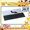 Rimless Black laptop keyboards for RV411 UK RU SP/LA IT TR GR FR BR NE DM DM/DK HB BE SD JA KR TI CH/TW...