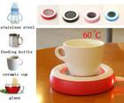 Electric mini portable office coffee usb cup warmer