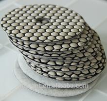 diamond hand polishing pads/dry flexible polishing pad