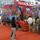 Guangzhou unique special effects truck mobile 5d cinema