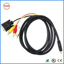 hdmi to 3rca+vga splitter cable