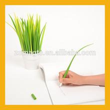 Creative Silicone Grass Leaf Ball Pen