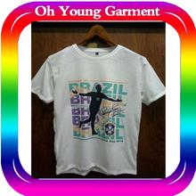 Cheap Custom Neymar 2014 Brazil World Cup Soccer Clothing and Football Tshirt