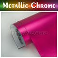 Teckwrap venta caliente mate cromo metálico de vinilo/del cuerpo del coche envoltura de película de vinilo para coche decoración del cuerpo