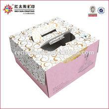 China Custom Cake Boxes Wholesale