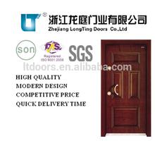 Popular Security Steel Wood Armored Door LTK-002