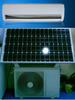 On Grid DC inverter type solar air conditioner