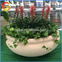 Classical square flower pot, ceramic square pot