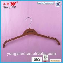 plastic metal hook shirt hanger wholesale