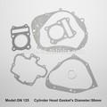 Repuestos de motocicletas, llena de la motocicleta junta kits para GN125