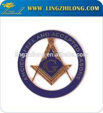 Ancient Masonic and Accepted Free Mason Auto Emblem Car Emblem