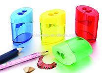 Factory Plastic double holes Pencil Sharpener