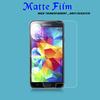 Anti-glare matte screen protector film for samsung galaxy s5