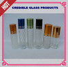 roll on ball perfume glass bottle with cap